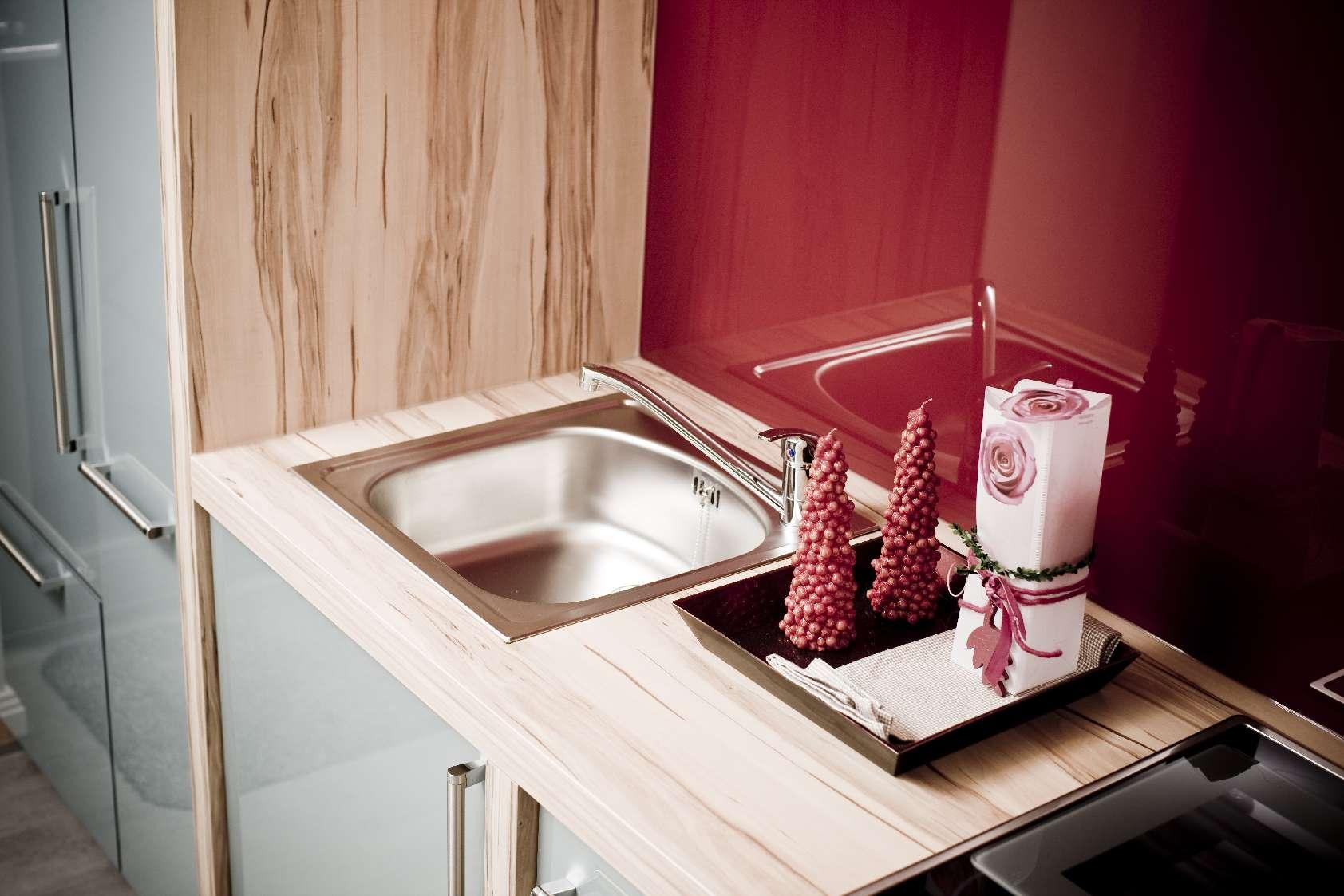 Einbauküche Speckemeyer integrierte Spüle
