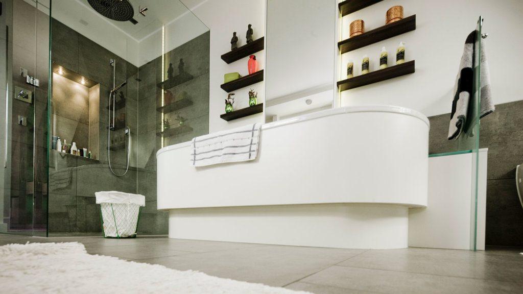 Frei stehende Badewanne