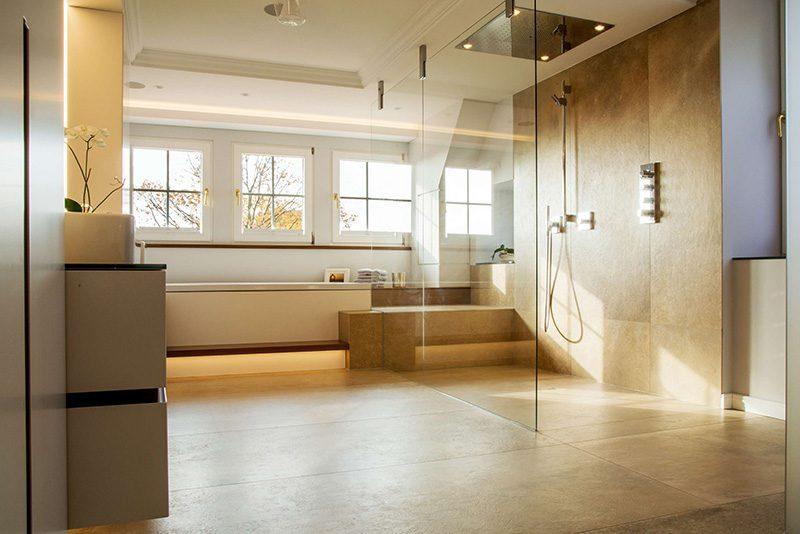 Master Badezimmer Regendusche Badarchitektur Speckemeyer So Funktioniert Wohnen